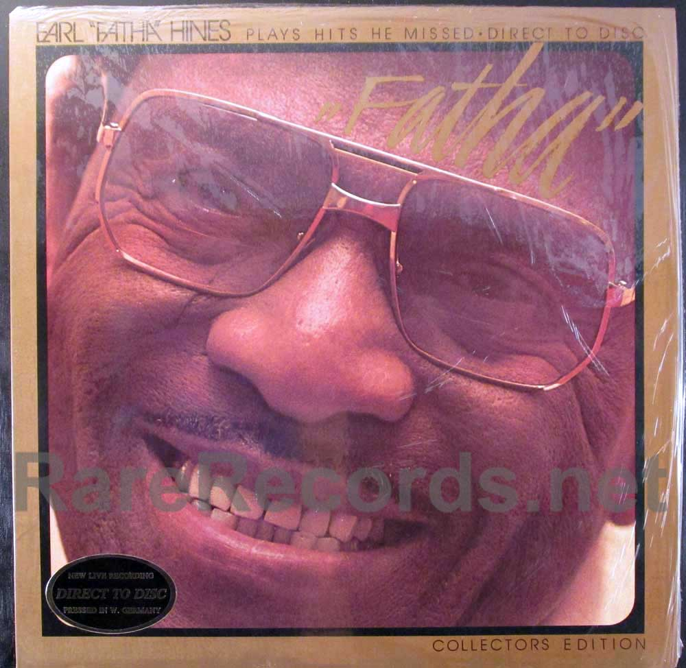earl fatha hines -plays hits he missed LP