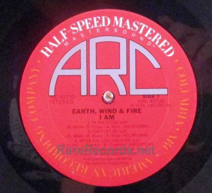 earth wind & fire - i am mastersound lp