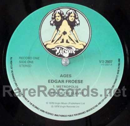 edgar froese - ages uk lp