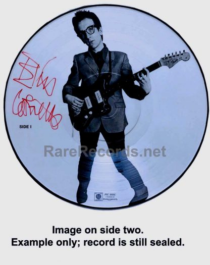 elvis costello - my aim is true picture disc lp