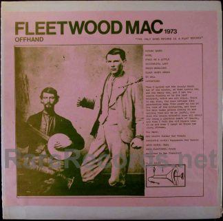 fleetwood mac - offhand live LP