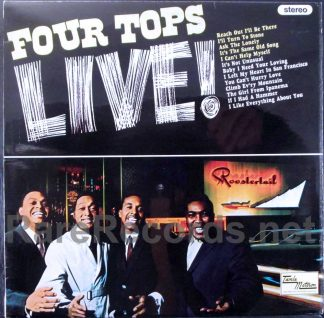 four tops - four tops live UK LP