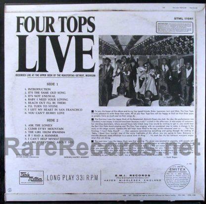 four tops - four tops live UK LP