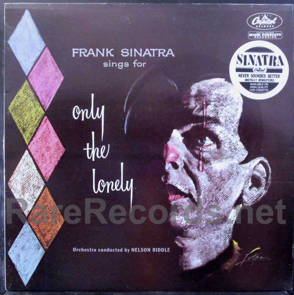 frank sinatra - only the lonely uk lp