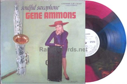 gene ammons - soulful saxophone colored vinyl LP