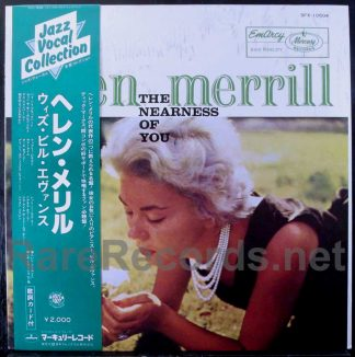 helen merrill - the nearness of you japan lp