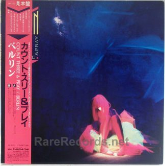 Berlin - Count Three & Pray Japan promo LP with obi