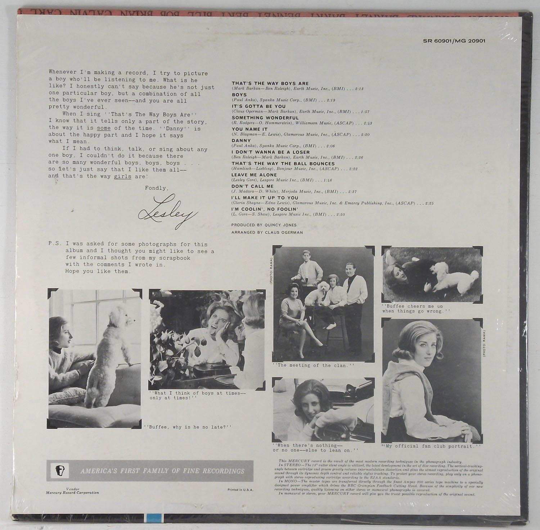 Lesley Gore - Boys, Boys, Boys sealed original mono LP