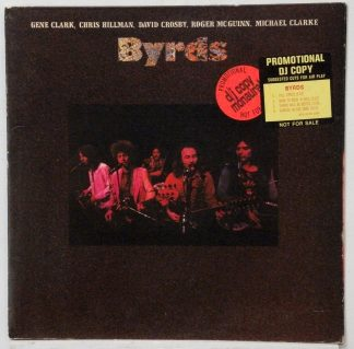 Byrds - self-titled mono white label promo 1973 reunion LP