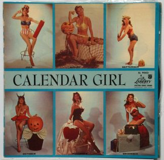 Julie London - Calendar Girl still sealed 1956 mono LP with gatefold cover