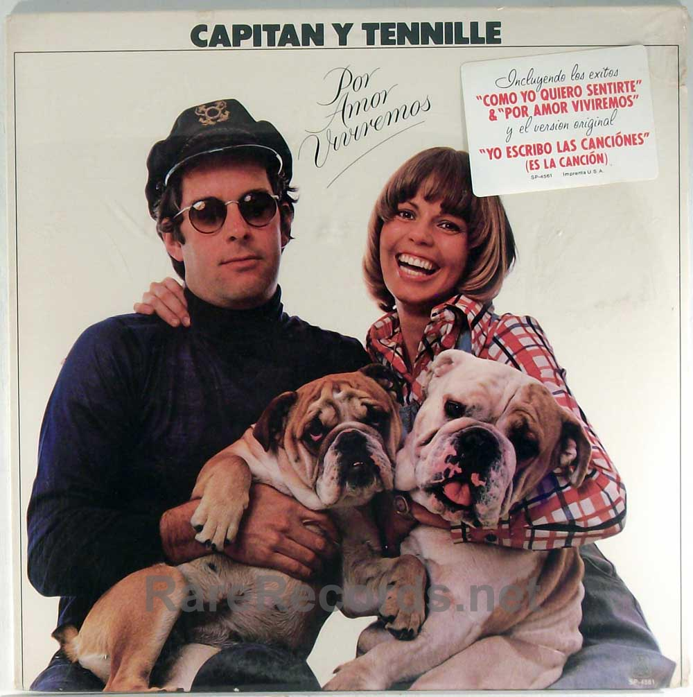 Captain & Tennille - Por Amor Viviremos sealed first LP in Spanish