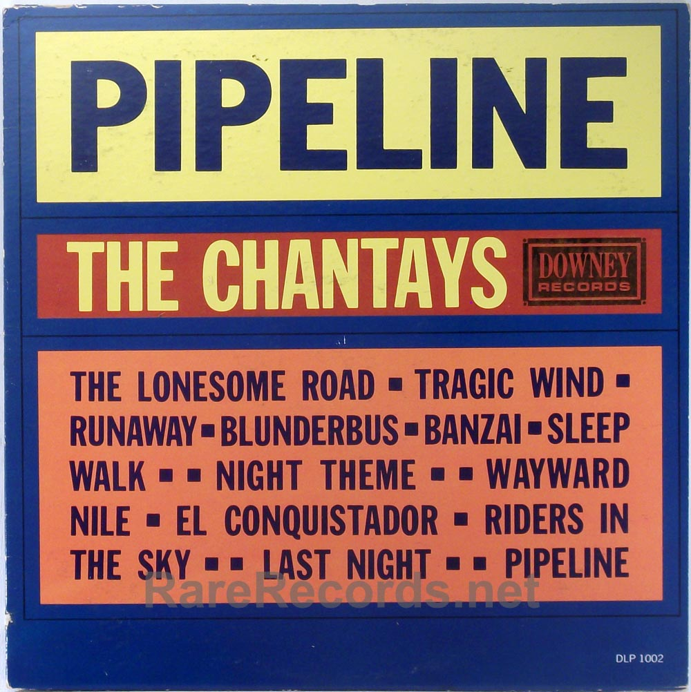 Chantays - Pipeline 1963 Downey mono LP