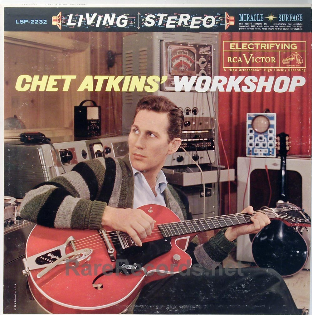 Chet Atkins - Chet Atkins Workshop RCA stereo 1961 LP