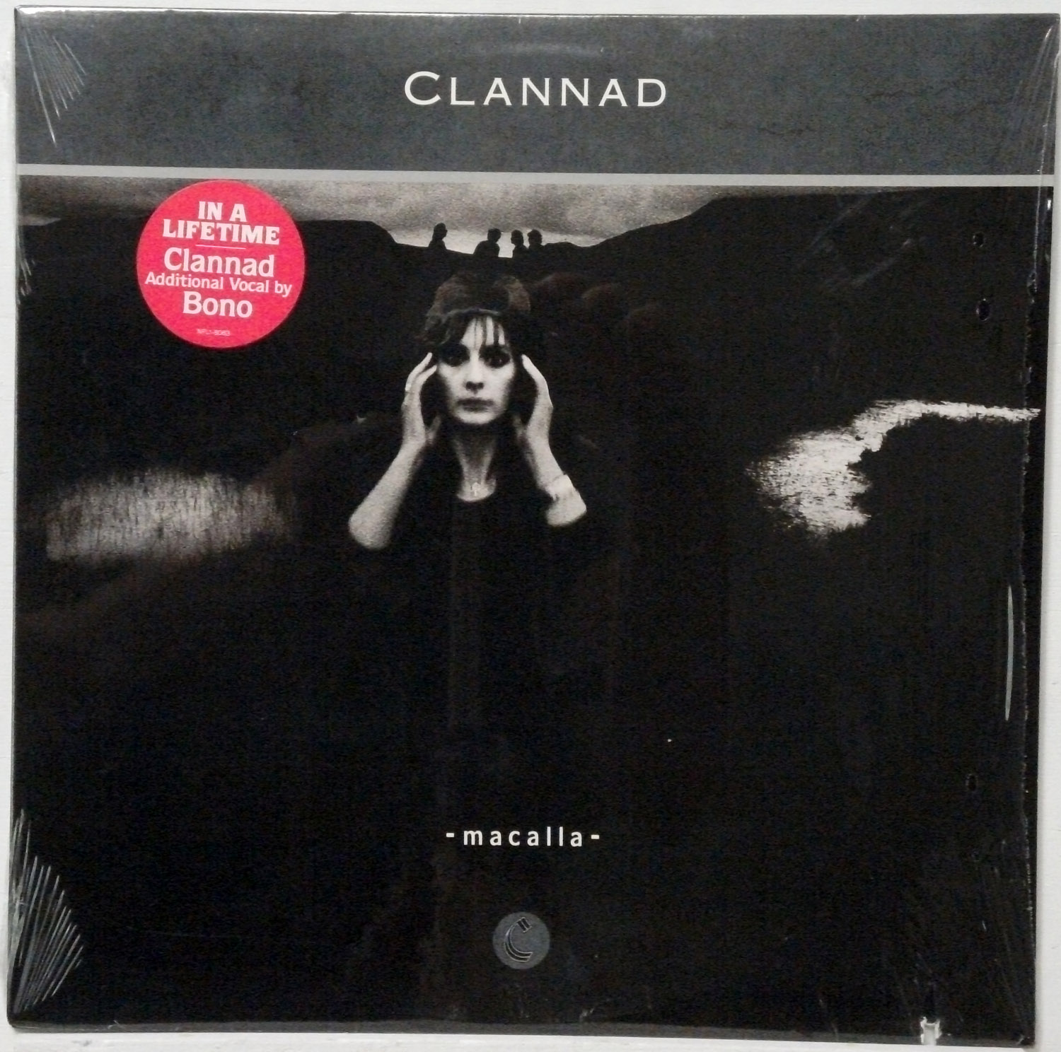Clannad - Macalla 1985 LP in shrink wrap with Bono appearance