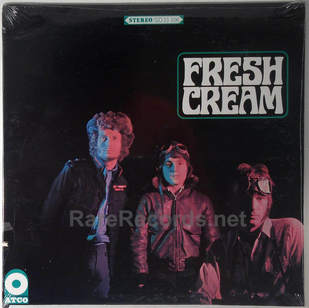 Cream - Fresh Cream sealed 1966 Atco stereo LP