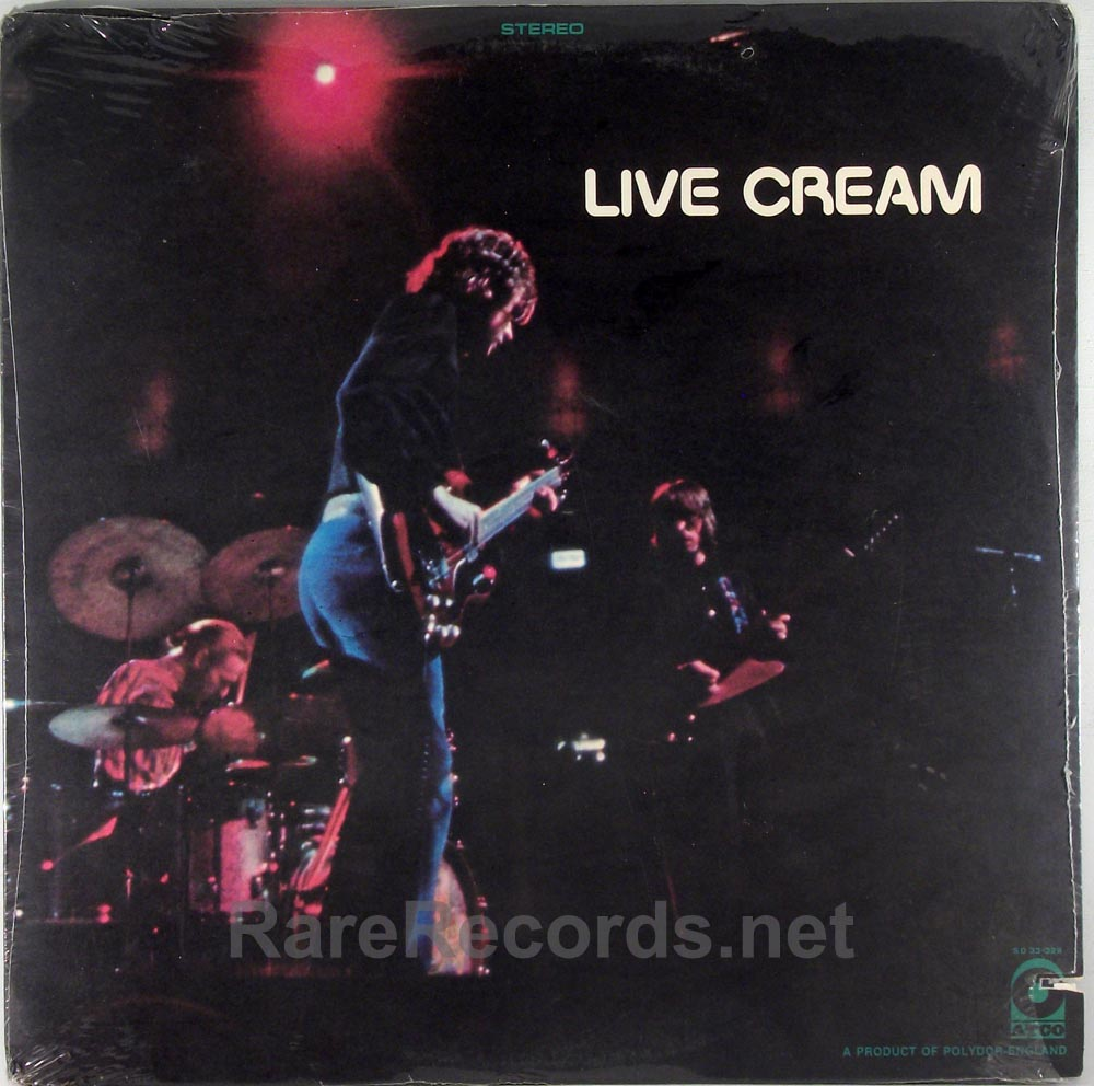 Cream - Live Cream sealed 1970 Atco LP