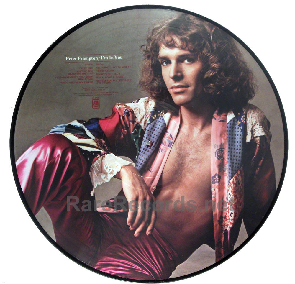 Peter Frampton - I'm in You 1977 promo-only picture disc LP