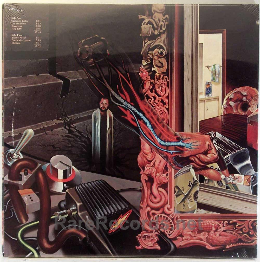 Frank Zappa - Over-Nite Sensation sealed 1973 LP