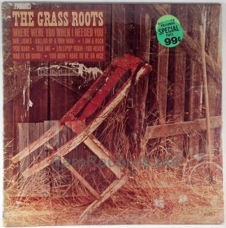 Grass Roots - Where Were You When I Needed You sealed mono 1966 LP