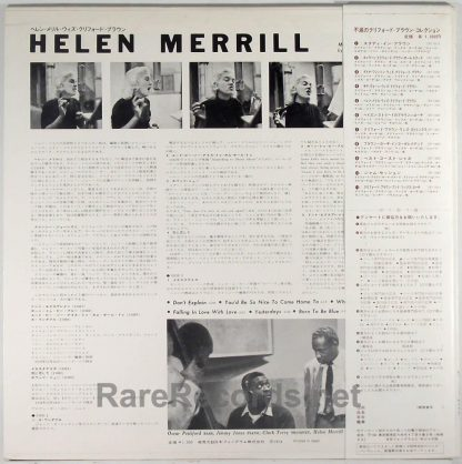 Helen Merrill - Helen Merrill Japan LP with obi