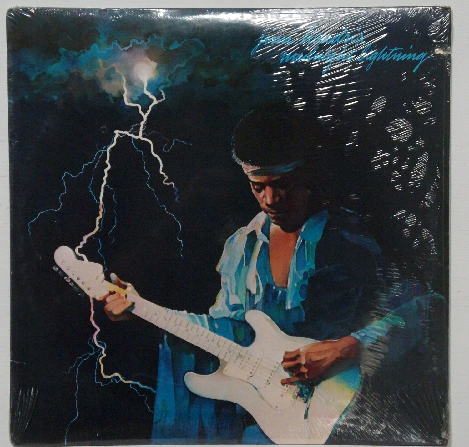 Jimi Hendrix - Midnight Lightning sealed 1975 LP