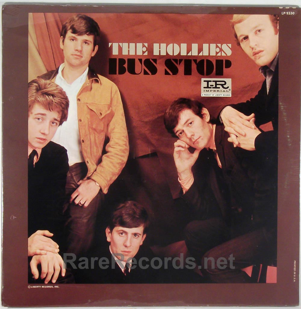 Hollies - Bus Stop sealed mono 1966 U.S. LP