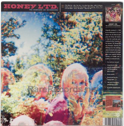 Honey Ltd - The Complete LHI Recordings sealed blue vinyl LP