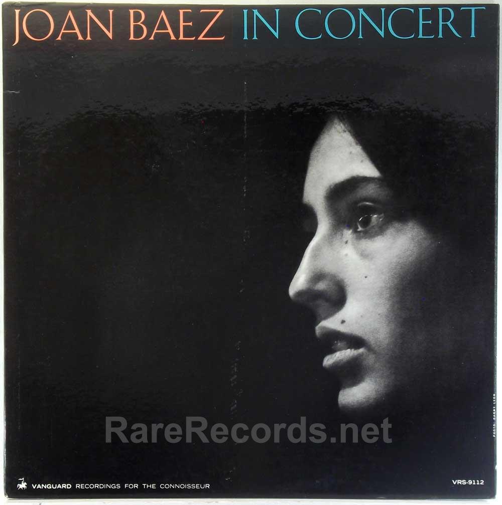Joan Baez - In Concert 1962 mono LP
