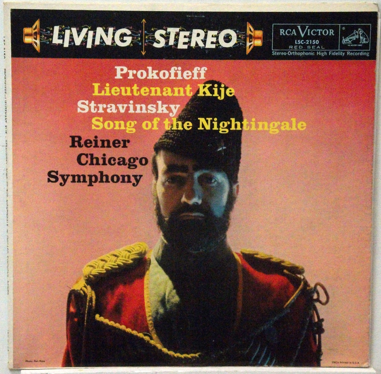 Reiner/Chicago Symphony - Prokofiev - Lt. Kije original RCA shaded dog stereo LP