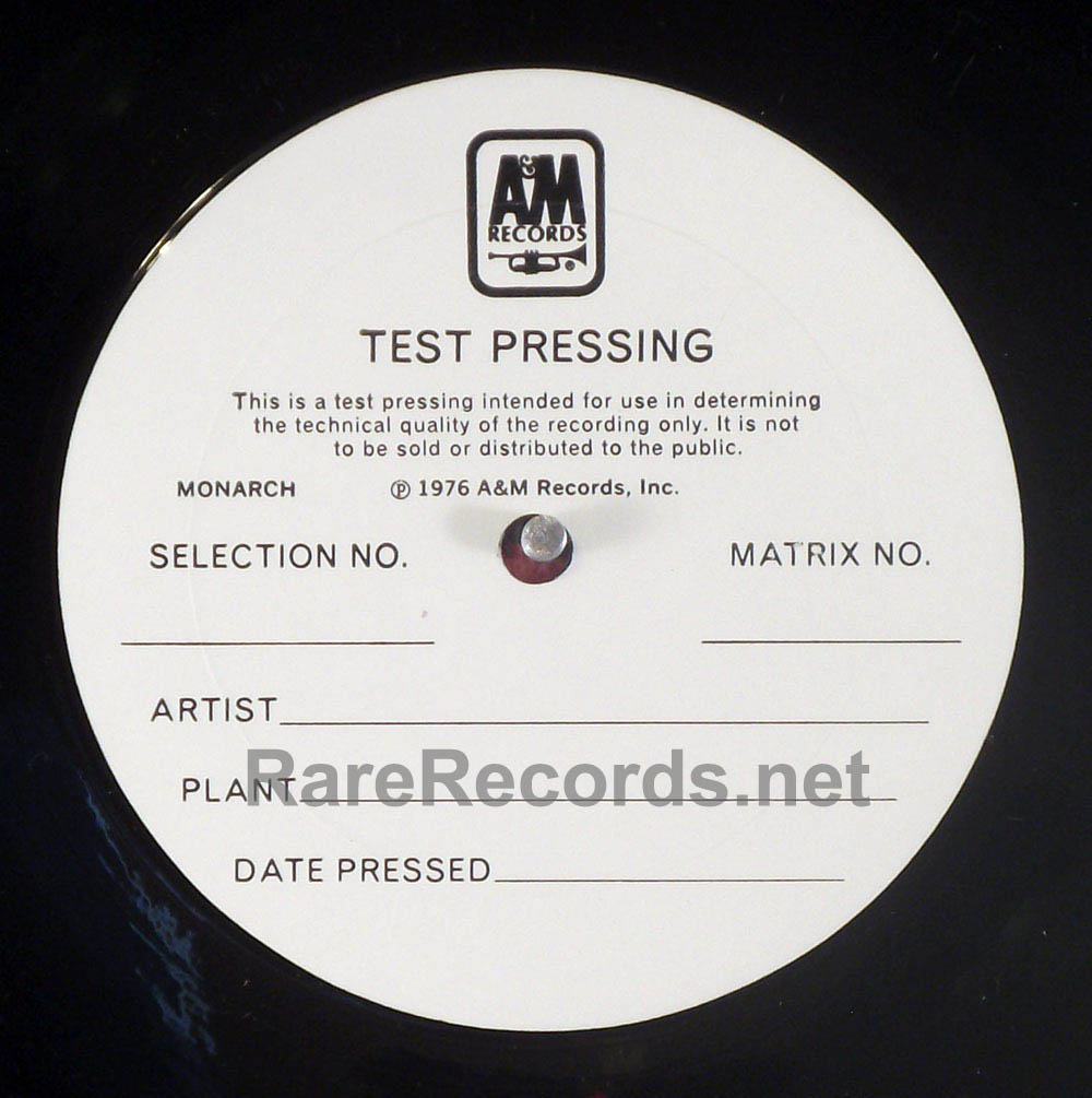 Lesley Gore - Love Me By Name 1976 A&M LP test pressing with cue sheet