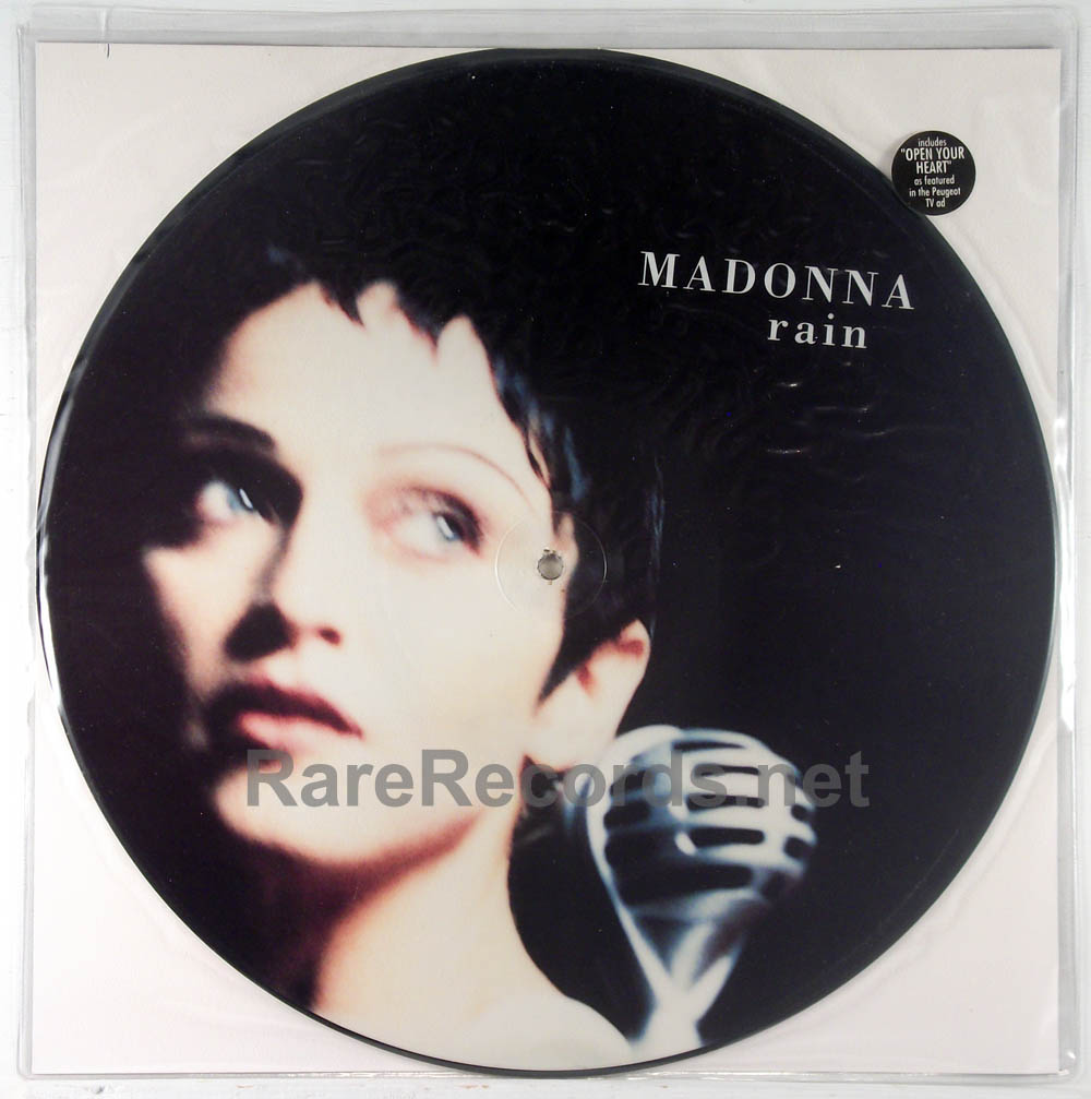 "Madonna - Rain limited edition 1993 UK 12"" picture disc"