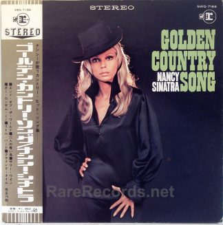 Nancy Sinatra - Golden Country Song rare Japan LP with obi