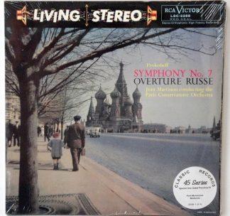Prokofieff Symphony #7 sealed Classic Records 4 LP 45 RPM set