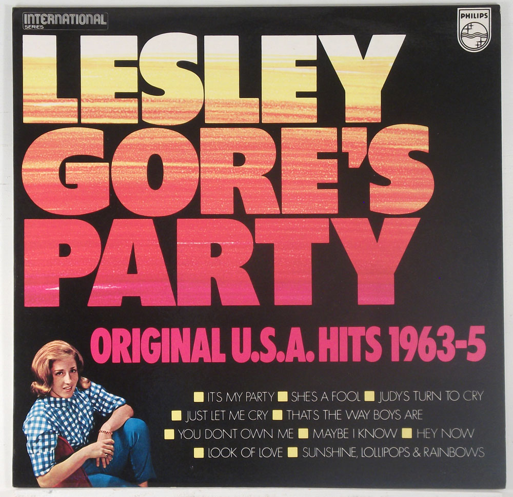 Lesley Gore - Lesley Gore's Party UK compilation LP