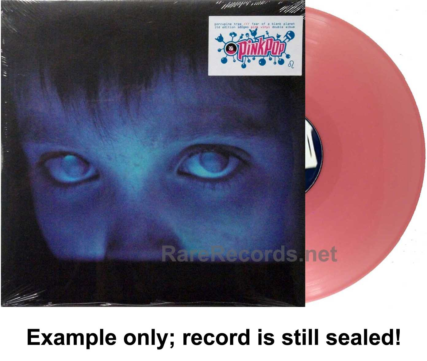 Porcupine Tree - Fear of a Blank Planet sealed pink vinyl PinkPop edition