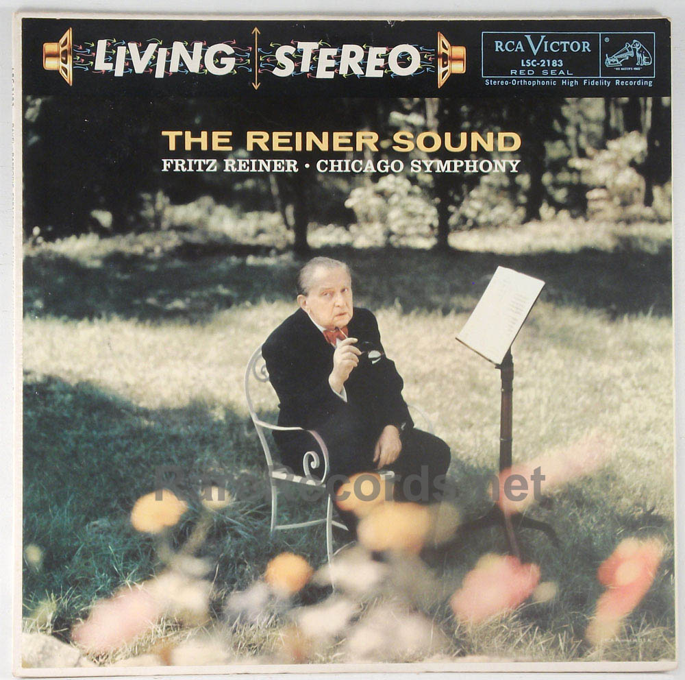 Reiner/CSO - The Reiner Sound original RCA stereo LP 10S