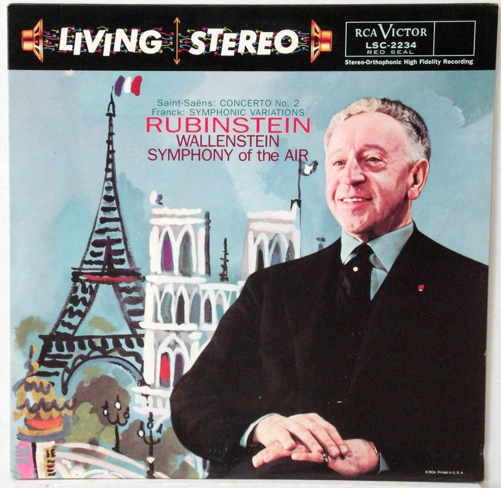 Saint-Saens - Concerto #2 Rubinstein Classic Records 180 gram LP