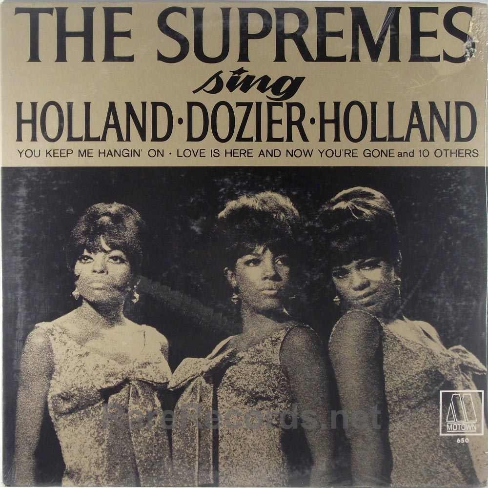 Supremes - Sing Holland Dozier Holland sealed 1966 mono Motown LP