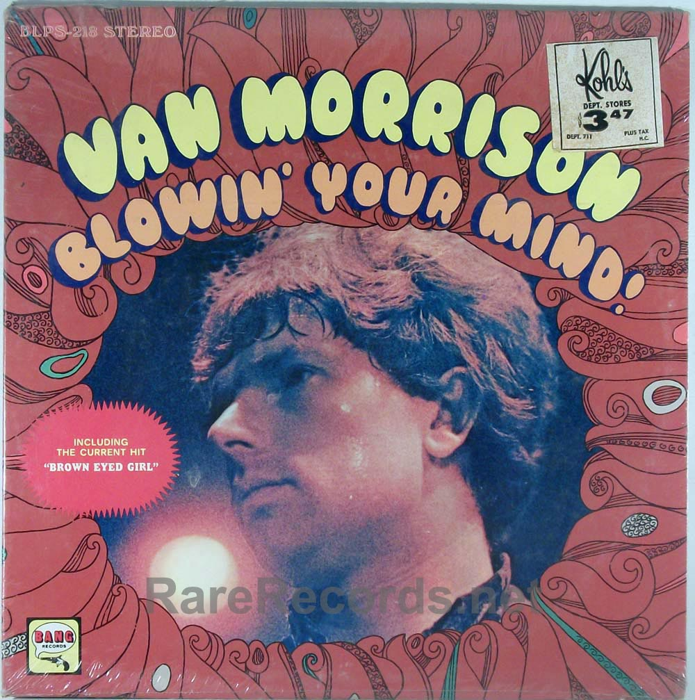 Van Morrison - Blowin' Your Mind! sealed 1967 stereo LP