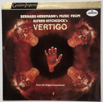 Bernard Herrmann - Music from Alfred Hitchcock's Vertigo Dutch LP