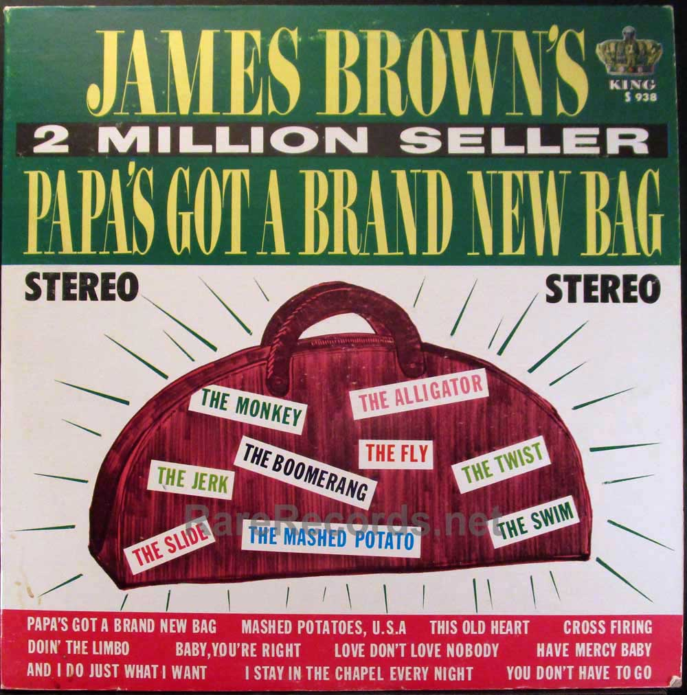 james brown - papa's got a brand new bag stereo