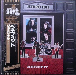 jethro tull benefit japan promo lp