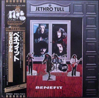 jethro tull benefit japan promo lp