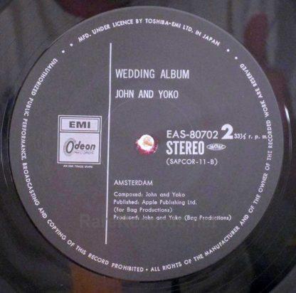 john and yoko - wedding album japan lp