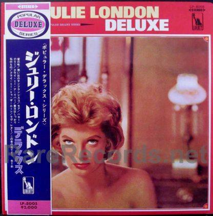 julie london - julie london deluxe red vinyl japan lp