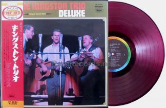 kingston trio - kingston trio deluxe japan lp