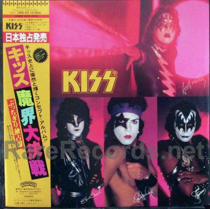 kiss - music from the elder japan lp