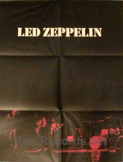 led zeppelin I japan poster