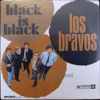 los bravos - black is black lp