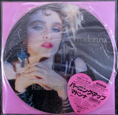 madonna first album japan picture disc